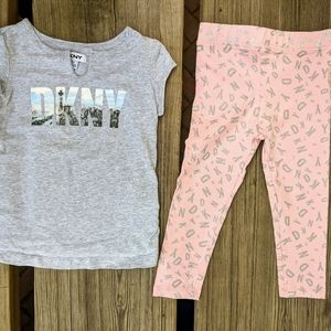 DKNY Girl Outfit 3T